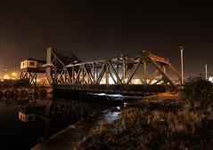 Duke Street Bridge (alundisleyimages@gmail.com) Tags: sky water architecture night docks reflections outdoors birkenhead wallasey wirral dukestreetbridge nikond7100 3peaker tokina1116mkll