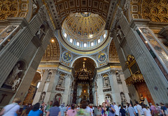 Basilica Papale di San Pietro, Vatican City (Alan Dreamworks) Tags: vatican rome roma  basilicaspietro nikond4  alandreamworks nikkoraf1424mmf28ged