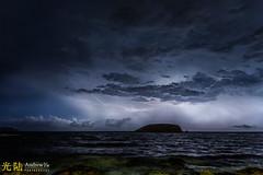 The Lightning Storm, Ibiza (awhyu) Tags: spain ibiza lightningstorm escana andrewyuphotography