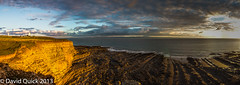 Nash Point (Monknash) panorama (18 of 18) (DavidQuick) Tags: panorama beach wales coast rocks cliffs glamorgan lowtide stitched nashpoint monknash
