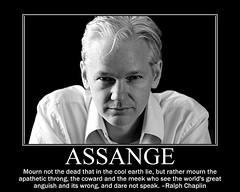 Assange (rstrawser) Tags: freespeech demotivational secrecy assange