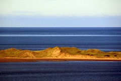 Sunlight on the sand dunes (billnbenj) Tags: cumbria barrow sanddunes sandhills irishsea walneyisland