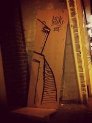 Decorated some dumped rubbish on kings heath, high street. (Lisk Bot) Tags: streetart art robot sketch birmingham drawing robots citycenter bots bot paining posca robotdrawing lisk robotart ukgraffiti ukstreetart birminghamstreetart madeinbrum liskbot roboart brumart icedteafilter
