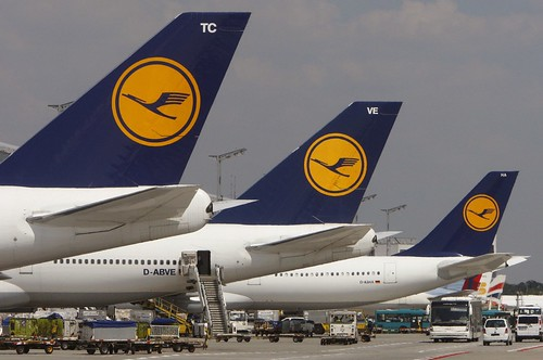 Germany Lufthansa Strike by jakevandermolen, on Flickr