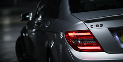 C63 AMG (Niall97) Tags: light car canon silver eos lights mercedes rear performance sigma automotive 63 german l 5d brake storey saloon 15mm f28 v8 multi amg markii merc 70200mm goldensquare c63