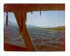 1182_Montenegro 2013_Bigova_Polaroid_30d_719 (nefotografas) Tags: camera trip vacation film polaroid boat diving land 100 690 expired montenegro bigova 122008 snurkeling