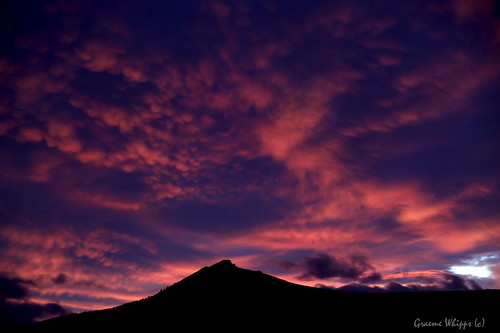 Sunset mammatus