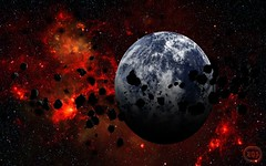 Only-Earth-Safe (GurshobitBrar) Tags: blue red galaxy planets newworlds