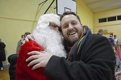 Bryan and Santa