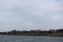 eine der Inseln vom Boot aus