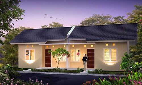 3D rumah type36