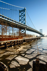 Ice like slate (Jackpicks) Tags: philadelphia delawareriver philadelphiapennsylvania