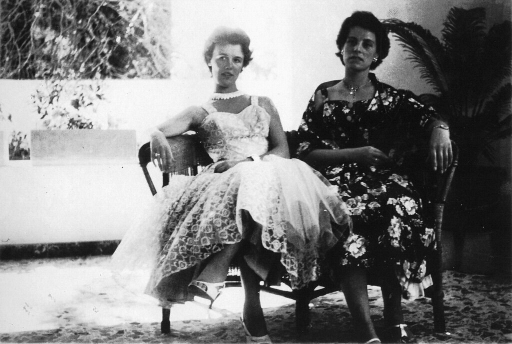 Danny's Aunties in South Africa 1950s