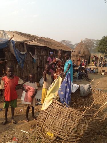 Locals host immigrants from South Sudan