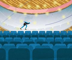 Speedskater (vaidas_naginionis) Tags: winter speed lights fast skate olympics speedskater {vision}:{sky}=0795 {vision}:{mountain}=0679