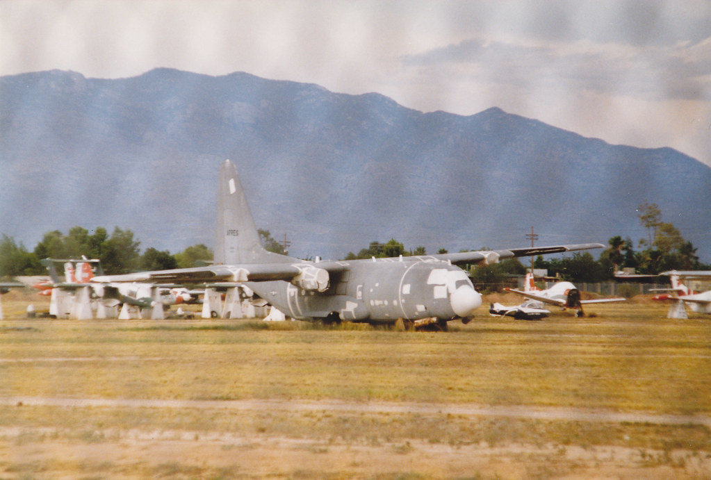 AFRes Herc (Al Henderson) Tags: Arizona Desert Aviation Military Storage  Davis Lockheed Hercules