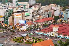 urban chaos (Andy Le | +84908231181) Tags: city urban skyline google chaos ben market vietnam chi ho thanh minh saigon
