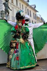 Sabine et Saturnin (joménager) Tags: costume nikon passion carnaval savoie 70200 f28 d3 afs masque aixlesbains rhônealpes vénitien