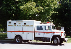 Nashville Fire Department, Tennessee - Extrication Unit (Timothy Wildey) Tags: nashville tennessee squad 1990 ihc nashvilletn navistar eone rescues nfd emergencyone nashvillefiredepartment s1900 historicalreference trwcollection extricationunit purchasedcollection