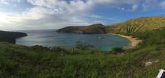 Hawaii (annrmz) Tags: ocean blue green beach nature water hawaii bay salt snorkling honolulu hanauma preserve hanaumabaynaturepreserve uploaded:by=flickrmobile flickriosapp:filter=nofilter