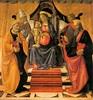 Domenico Ghirlandaio, Madonna and Child Enthroned with Saints, c. 1479, Tempera on wood, 170 x 160 cm, Duomo San Martino, Lucca (Emme Debi) Tags: art domenico ghirlandaio quattrocento
