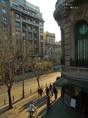 Elisabeta Boulevard, Bucharest (Carpathianland) Tags: street people architecture strada pedestrian scene romania pedestrians streetscape passerby bucuresti oameni bulevardul arhitectura strazi pietoni trecatori passerbies