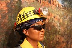 Fire fighter (twm1340) Tags: arizona station forest us ranger sedona az service redrock firefighter blm voc usfs