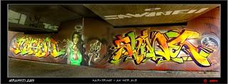 Graffiti  2014  - Karlsruhe - An der Alb: By  MISEM - CORE - SHINE