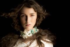 Gaze (taleofsera) Tags: classic beauty fashion model lace classical choker neptunianhaze