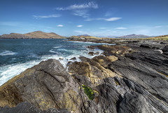 Valentia Island - Kerry - Ireland (Gareth Wray - 13 Million Views, Thank You) Tags: ocean life county old blue ireland light sea summer vacation sky irish cliff lighthouse house holiday seascape building green tourism pool stone clouds point landscape island photography bay countryside town site pond nikon rocks europe waves angle natural head cove famous horizon wide scenic rocky landmark sealife visit tourist kerry cliffs historic atlantic ring knights fox killarney hd algae geology nikkor peninsula gareth hdr cromwell wray valentia iveragh strabane portmagee knightstown oceanscape 1024mm d5300 hdfox