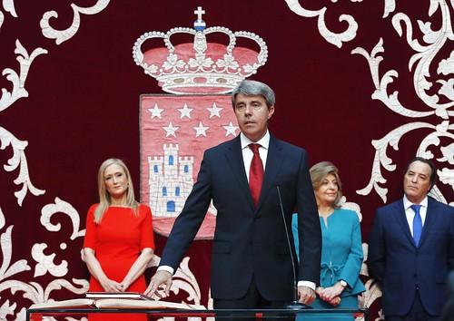 Ángel Garrido, consejero de Presidencia, Justicia y Portavocía.