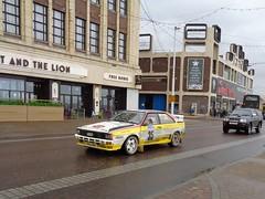 Audi Quattro Rally car on Blackpool Promenade (j.a.sanderson) Tags: bournemouthdcc blackpool northweststagesrally2017 audiquattro stuartandersonpeters rayread b20vrr rymercommercialsltd