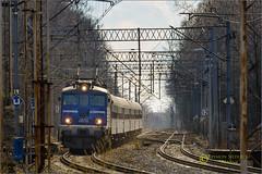 EU07-334, Tychy, Poland (Reanoe) Tags: eu07 d610 tamron rails railways trains passenger tlk