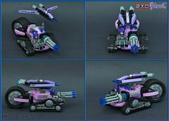 Exo-Friend (1 of 6) (Bricksky) Tags: lego moc bricksky exoforce friends 8118 tank pink