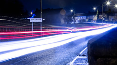 Mid Calder 2099 (MatMat Brown) Tags: futuristic lighttrail lights midcalder neo nighht night scotland westlothian