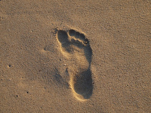Footprint by colmbritton, on Flickr