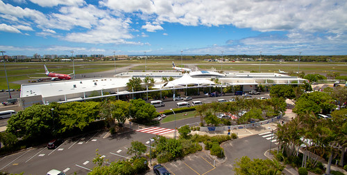 Sunshine Coast Airport from Tower