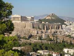 162 - Acropolis & Lykavittos Hill (Scott Shetrone) Tags: other events places athens parthenon greece monuments acropolis 5th anniversaries