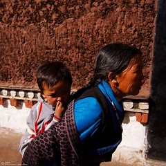 The tibetan. 藏民-祖孙。 (maya_jason) Tags: 旅游 人物 纪实摄影 人像 人文 西藏 肖像 纪实