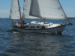 Allied Seawind & George (cjh44) Tags: ontario sailboat sailing sunday sails kingston collinsbay alliedseawind