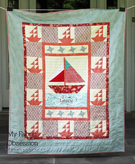 2nd nautical full2 (MyFabricObsession) Tags: ships anchor nautical saltwater babyquilt tulapink