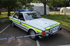 Kent Police Open Day 2013 (19) (kenjonbro) Tags: uk white classic ford kent historic granada openday 2013 28i worldcars kentpolice kenjonbro canoneos5dmkiii b773ykl kentpoliceopenday2013 exkentpolice