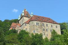 2013-07-09 Liebstadt (beranekp) Tags: old castle history germany deutschland alt saxony sachsen schloss hrad burg erzgebirge kuckuckstein liebstadt