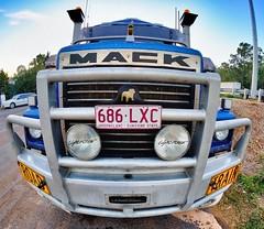 Big Mack (petach123 (Peter Tachauer)) Tags: mack roadtrain