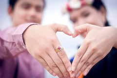 Love is ...?? (Puykamo@Tai) Tags: love beautiful nice hands heart ring thai romantic lover puykamo