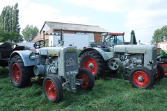 DEUTZ F2M 315 et F3M 417 (xavnco2) Tags: old tractor france vintage traktor farm farming meeting exposition agriculture nord tracteur ancien vecchio trattore schlepper agricoltura raduno shoow agricole rtsb secbois