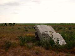 Carhenge (samirluther) Tags: sculpture art junkyard carhenge