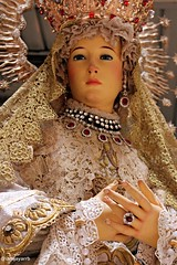 La Virgen Gloriosa, Maria Santisima del Dulce Nombre (@iamjayarrb) Tags: santa sculpture church catholic maria mary philippines mother saints statues holy virgin poon virginmary virgen santo pinoy mamamary pilipinas panata stalucia