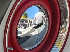 1951 Merc reflection (bballchico) Tags: 1951 mercury kustom custom tomcollins 4door sedan project dropoutscctacoma 206 washingtonstate