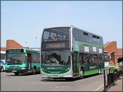 Norfolk Green 21 (SN12 EHM) (Colin H,) Tags: new bus green norfolk lynn kings ng alexander dennis enviro trident adl ibp norfolkgreen alexanderdennis enviro400 ipswichbuspage colinhumphrey sn12ehm ng21